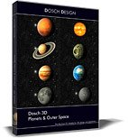 DOSCH 3D: Planets & Outer Space